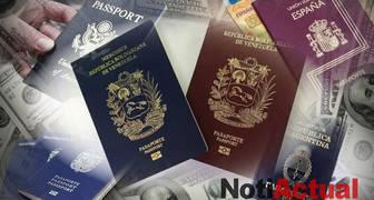 PASAPORTE VENEZOLANO VERSUS PASAPORTES DE OTROS PAISES