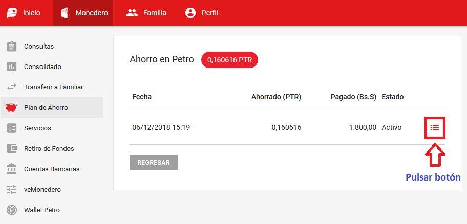 PLATAFORMA PATRIA GUIA PARA CONVERTIR AGUINALDOS EN PETROS A BOLIVARES SOBERANOS PASO 3