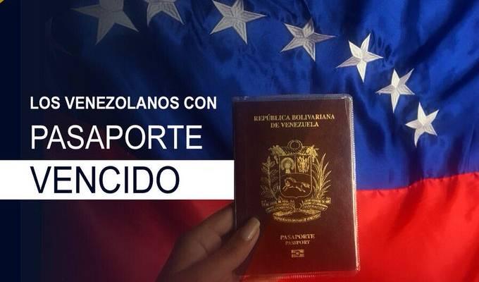 MIGRACION COLOMBIA ACEPTA PASAPORTES VENEZOLANOS VENCIDOS