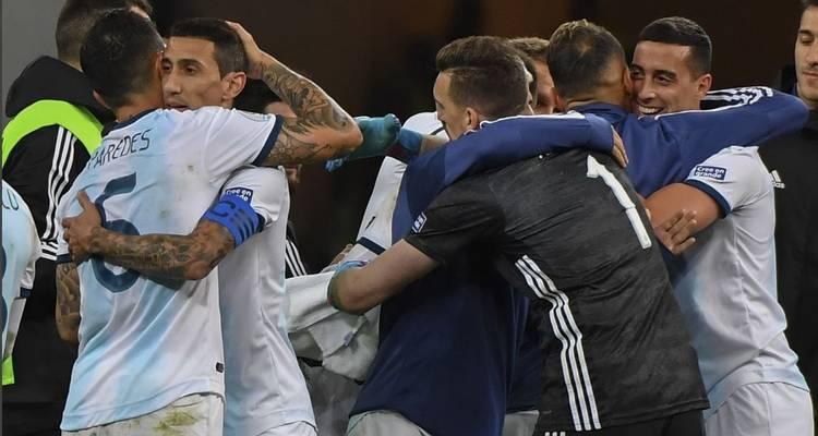 Argentina se hunde en el tercer puesto de la Copa América