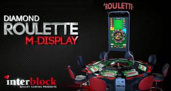 Interblock Diamond para jugar a la ruleta y al blackjack