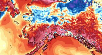 Ola de calor en Alaska 2019
