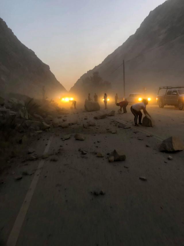 Poderoso terremoto de 7.1 sacudió California 06 07 19