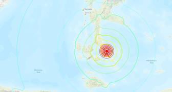 Terremoto de magnitud 7,3 sacude Indonesia 140719