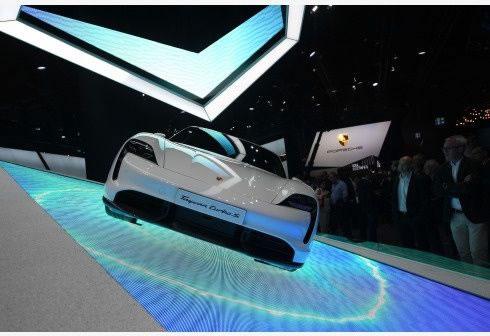 Porsche Taycan de Alemania