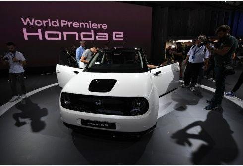 Nuevo modelo eléctrico Honda E