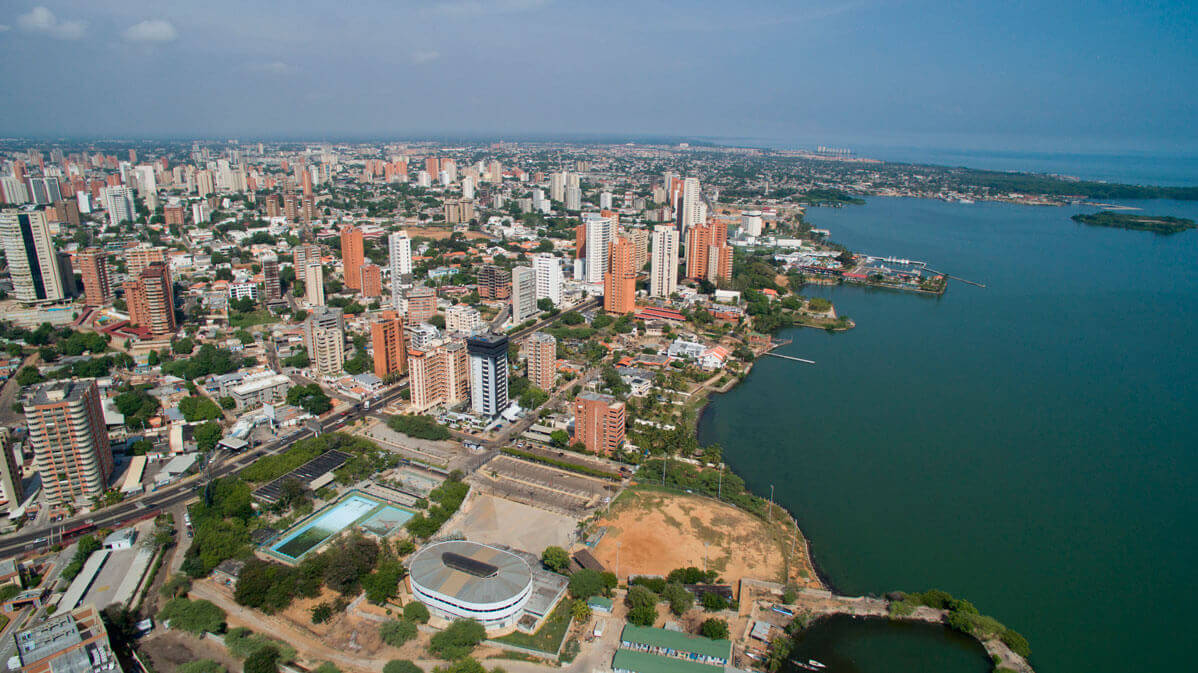 VISTA AÉREA DE MARACAIBO