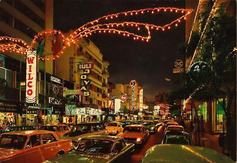 Sabana Grande de noche, años 60