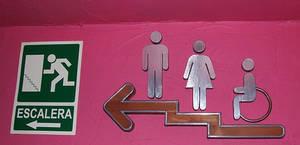 baño unisex