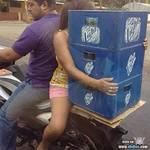 Comprando Cerveza