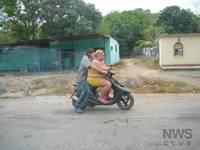 Super gorda motorizada