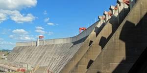 La hidroeléctrica del Guri, en Bolívar, es la mayor generadora de energía del país y, según algunas fuentes, está parcialmente inactiva.
