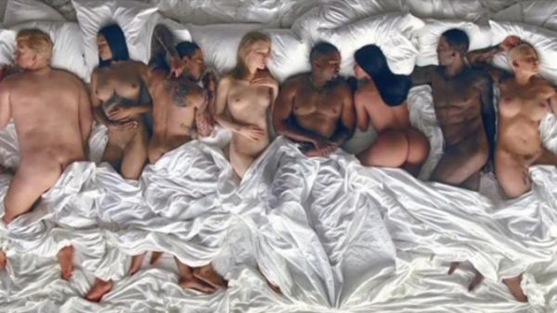 Kanye West Tidal video has nude Taylor Swift, Donald Trump