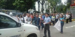 trabajadores de corpoelec exigieron sus derechos