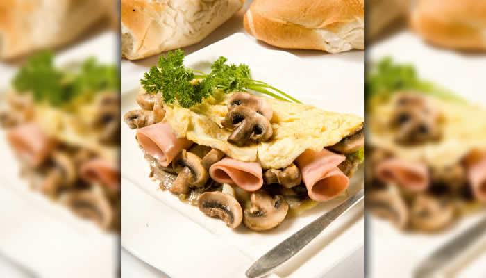 Omelettes de hongos