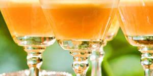 gelatina de piña y yogourt