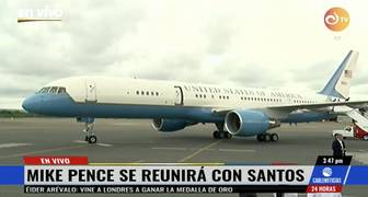 mike pence en colombia