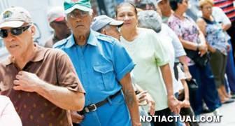 pago de pensiones para pensionados jubilados