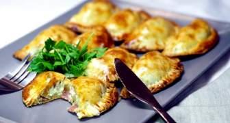 Empanadas carbonara