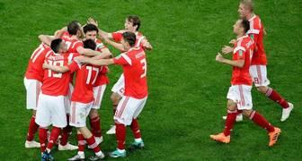 Rusia casi en octavos de final, luego de ganar 3-1 a Egipto