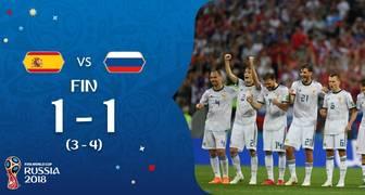RUSIA GANA POR PENALES A ESPAÑA RUSIA2018