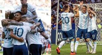 Argentina 2 Venezuela 0 Copa América