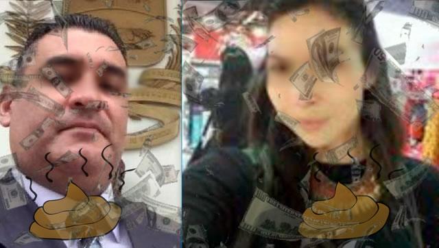 Kevin Rojas y Rossana Barrera