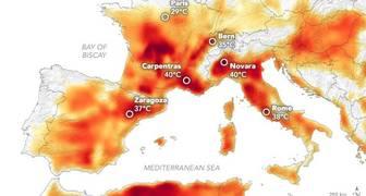 OLA DE CALOR EN EUROPA, CAMBIO CLIMÁTICO