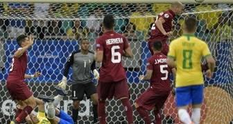 Venezuela empató 0-0 con Brasil