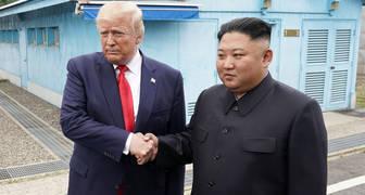 Trump Kim paralelo 38
