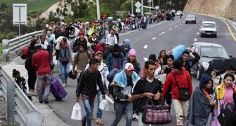 Migrantes venezolanos colombia ecuador peru