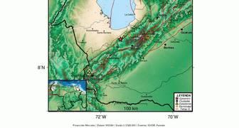 Sismo 2019 07 22 Mag 4 4 Mw, a 27 Km al noreste de El Vigia