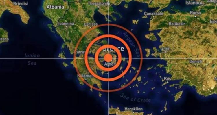 Sismo de magnitud 5,1 sacudió Atenas
