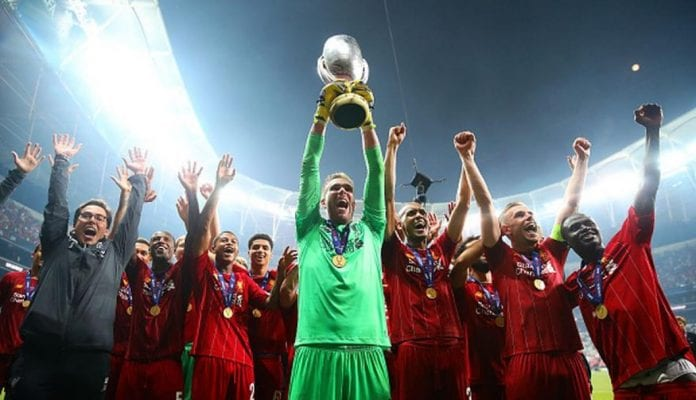 Liverpool triunfó ante el Chelsea supercopa de europa