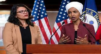 Rashida Tlaib de Michigan e Ilhan Omar de Minnesota