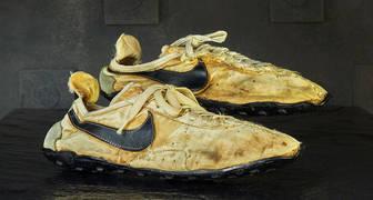 Zapatillas Nike hechas a mano para las pruebas olímpicas de 1972