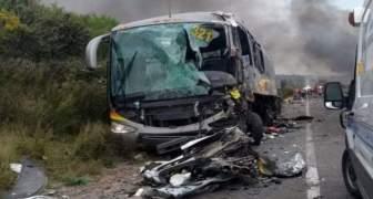 5 Muertos Y 35 Heridos Dejó Accidente De Autobús En Guatemala