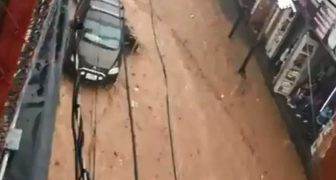 Intensas lluvias dejan inundado al Estado Vargas
