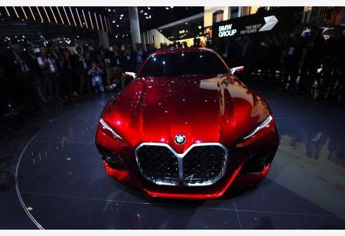 La marca alemana, BMW expuso su modelo Concept 4
