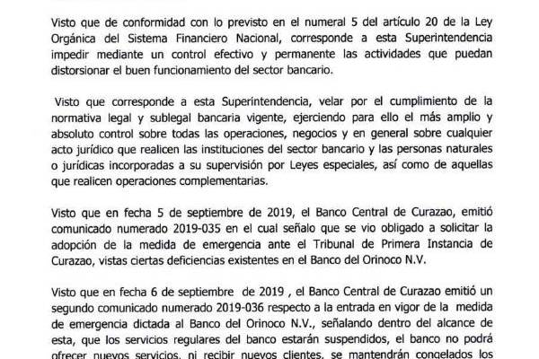 TEXTO DE LA RESOLUCION DE INTERVENCION DEL BOD (1)