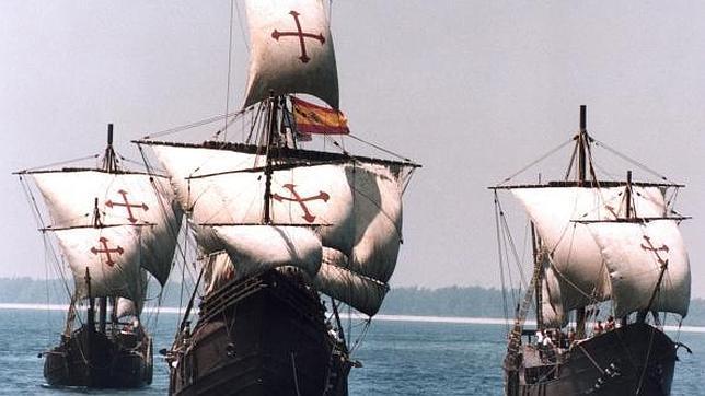 CARABELAS DE COLON VIAJE A AMERICA 12 DE OCTUBRE DE 1492