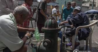CRISIS EN VENEZUELA AGUA EMBOTELLADA