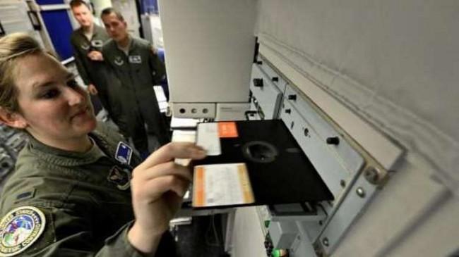 EEUU recién dejó de usar Diskettes flexibles
