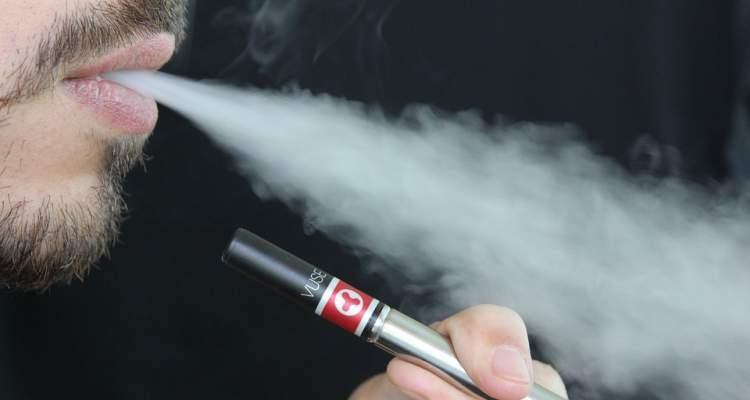 Electronic Cigarette Vaping