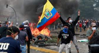 PROTESTAS EN ECUADOR 2019