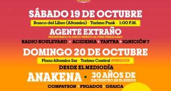 Todo listo para celebrar el Festival Nuevas Bandas 2019 en la calle