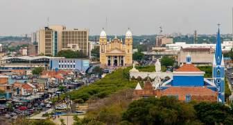 VISTA AEREA DE LA CIUDAD DE MARACAIBO