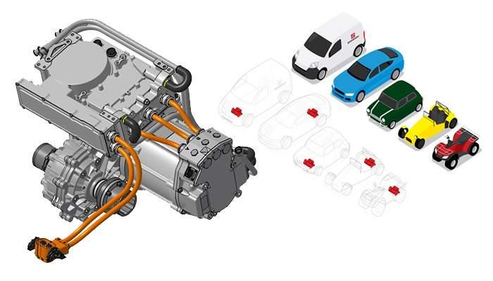 Desarrollaron motor eléctrico universal compacto