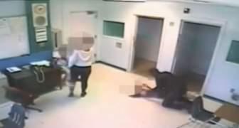 Policía de Florida lanzó contra el suelo a niña especial