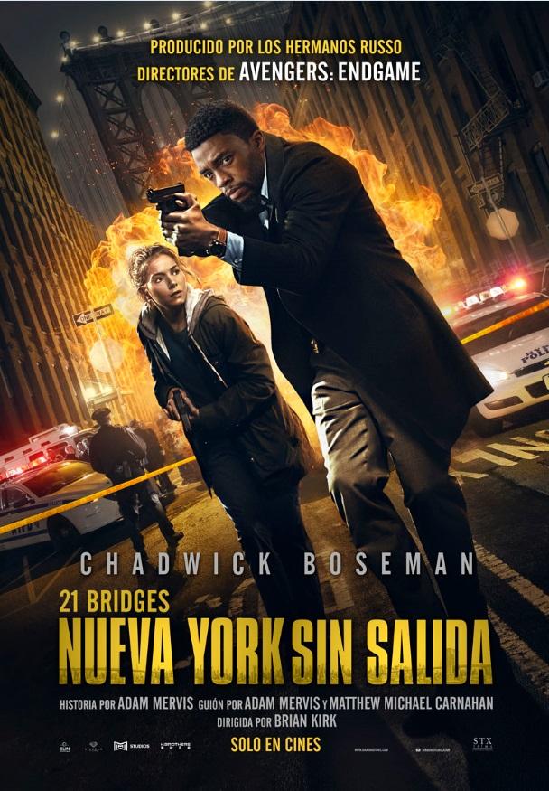 Poster pelicula Nueva york sin salida 2019